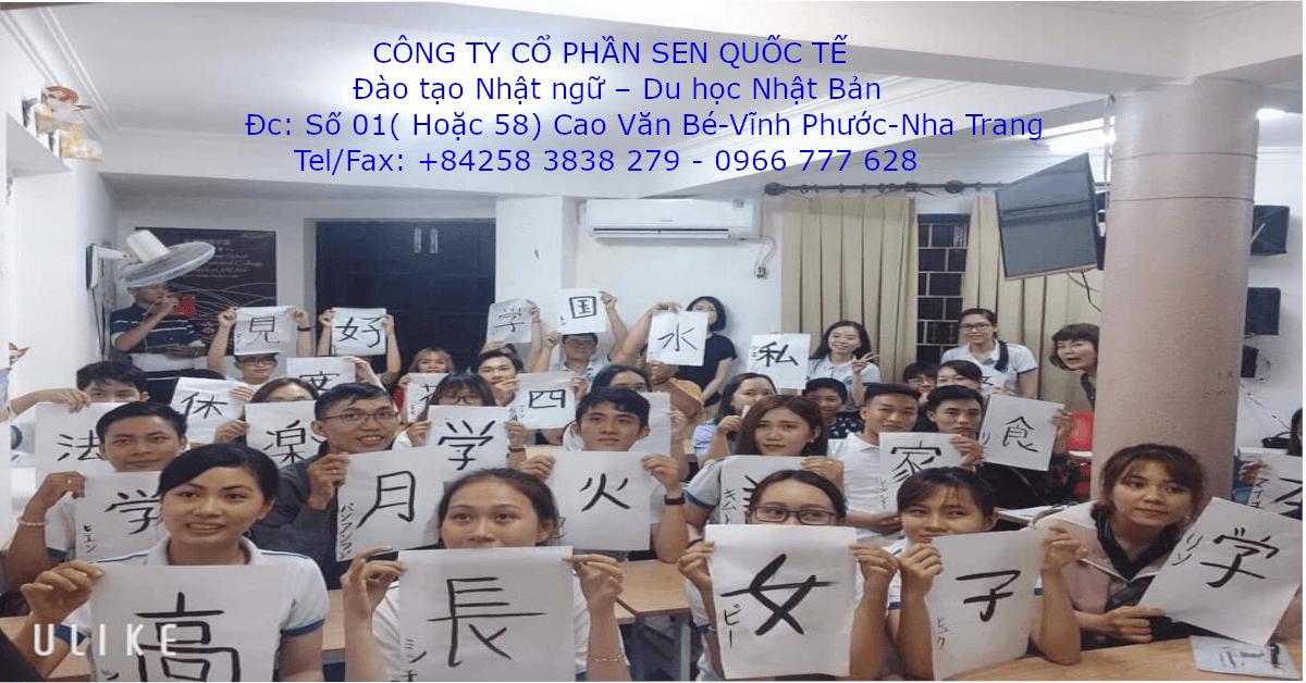 Lớp học tiếng Nhật cơ bản tại Nha Trang Khánh Hoà